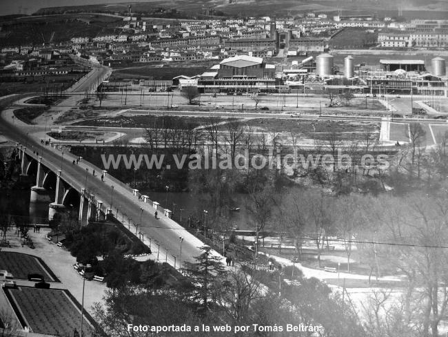 Valladolid web valladolid antiguo huerta del rey a os 60 for Piscina huerta del rey