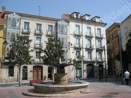 Valladolid web calles plazas y jardines plaza de - Santa ana valladolid ...