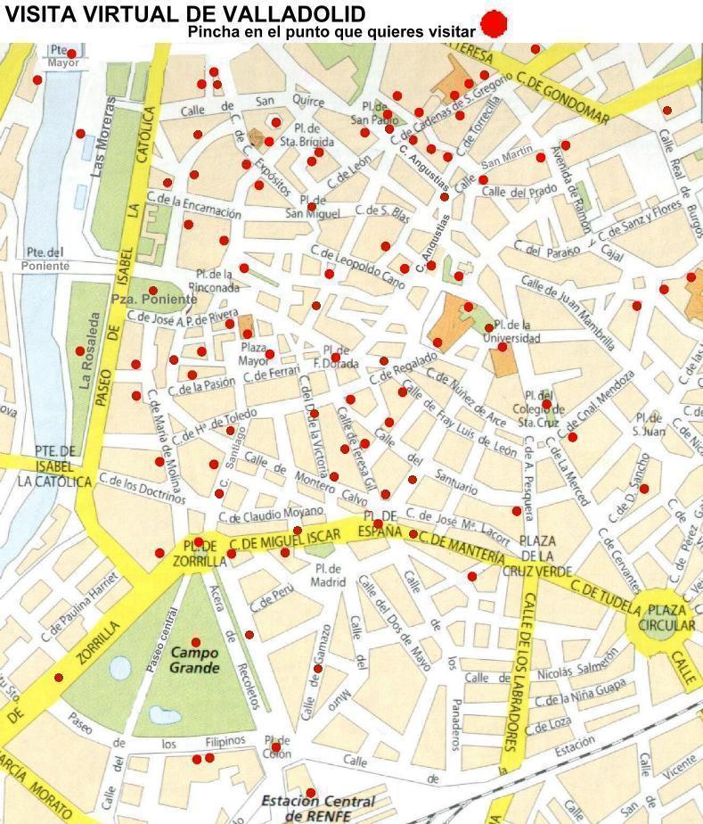 Valladolid web visita virtual - Paginas amarillas de valladolid ...