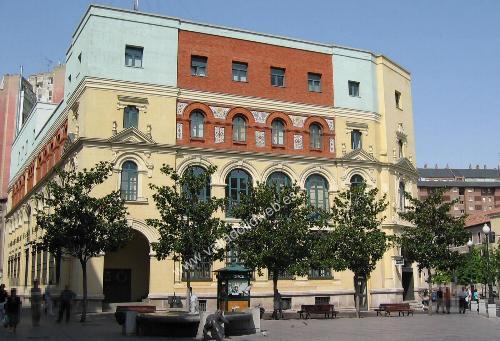 Valladolid web monumentos y edificios edificio de for Oficina de correos valladolid