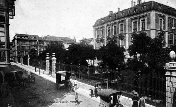 Valladolid web sucedi en valladolid valladolid en 1863 for Oficinas bbva valladolid